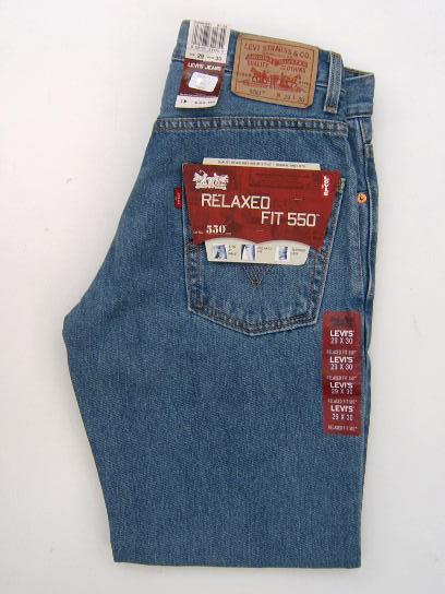 4a996a2b Levis 550 Jeans - Regular Stonewash - $43.99 : Levis 501 | Dickies ...