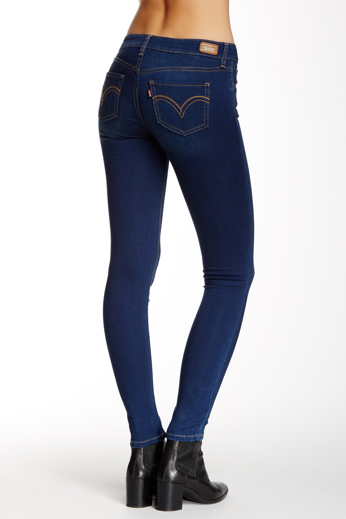 Levi's Juniors 535 Legging Jean - Blue Ravine (0254)