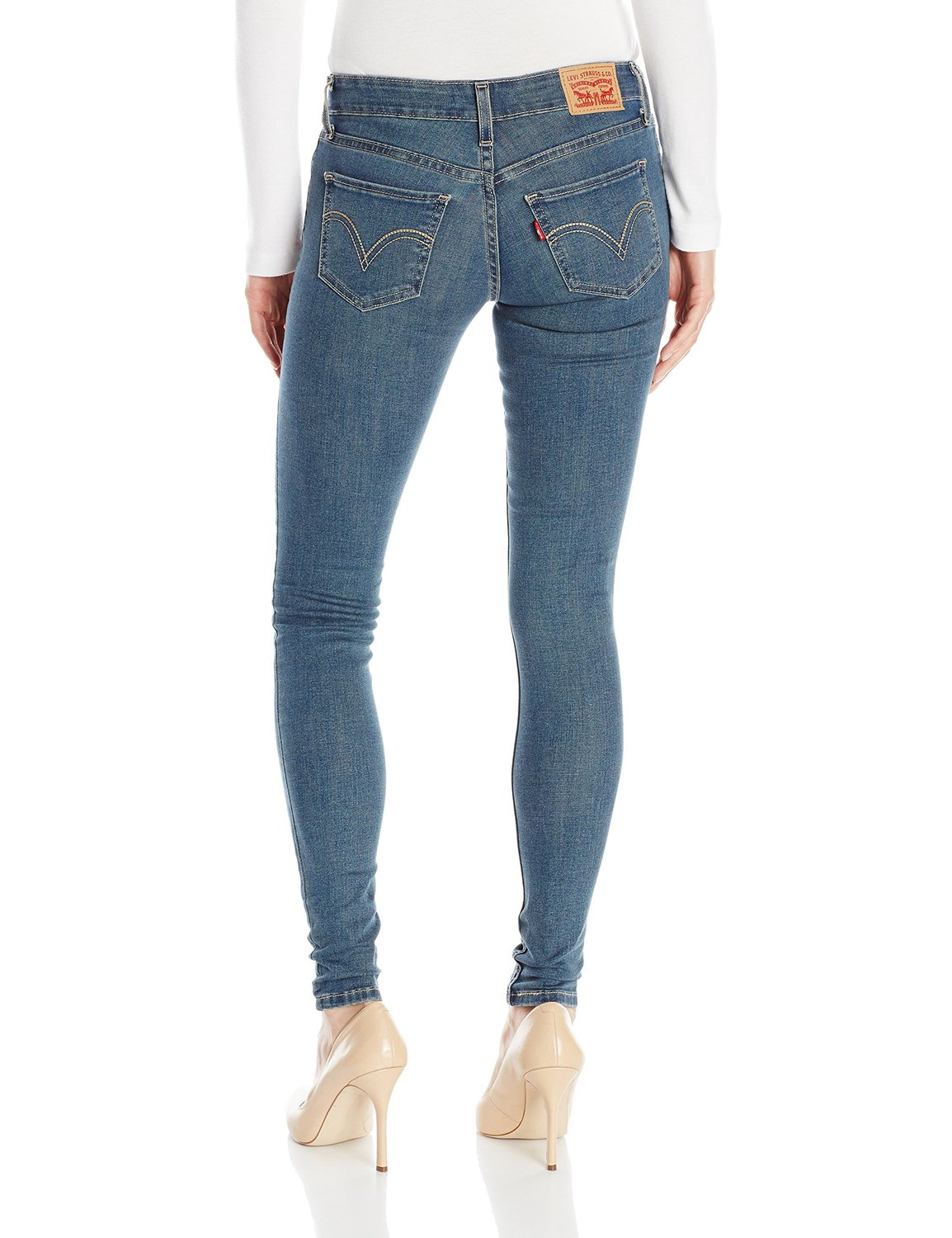 Levi's Juniors 535 Legging Jean - medium Blue (0260)