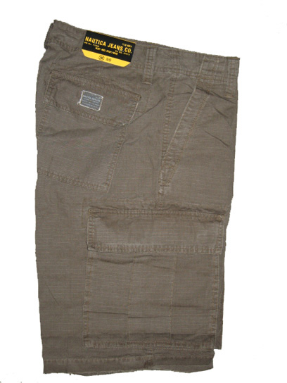 Nautica Cargo Shorts - Army Green