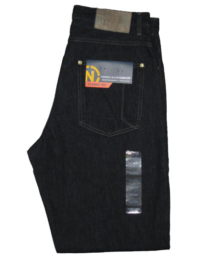 Nautica Classic Fit Jean : Rinsed Blue (Dark Denim)